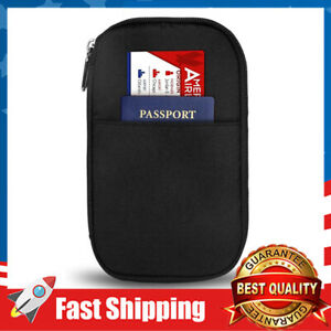 Passport Wallet Holder Travel Fashion Ticket Passport Credit Card ID Document