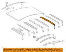 TOYOTA OEM 12-17 Prius V ROOF-Rear Reinforcement 6310447010