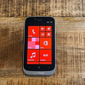 Good Microsoft Nokia Lumia 822 16gb Gray Verizon Windows SMARTPHONE #5