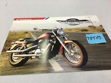 Honda VT1100C American Classic Edition Shadow 1100 prospectus catalogue brochure