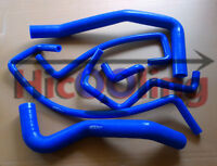 Blue silicone heater radiator hose for HOLDEN COMMODORE VR 3.8 V6