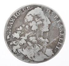 1 Thaler large 1764 silver coin Maximilian Joseph III    #M073