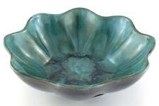 587 Blue Mountain  Glazed Bowl BMP Canada Leaf Bowl