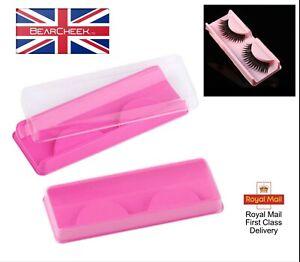 False Eyelash Storage box - Empty Lashes Case – Eyelashes Container - Reusable