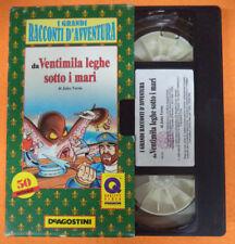 VHS film VENTIMILA LEGHE SOTTO I MARI I grandi racconti avventura (F107) no dvd