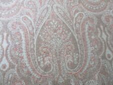 BARGAIN ROLL END 3.9 METRES CLASSIC PAISLEY UPHOLSTERY FABRIC 80% WOOL