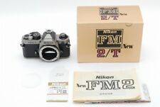 [Exc+++++] Nikon New FM2/T Titanium SLR Body s/n:902xxxx Boxed From JAPAN #129