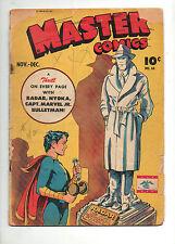 Master Comics #64 1945 Captain Marvel Jr, Bulletman Nyoka, Radar! Fawcett Gd 2.0