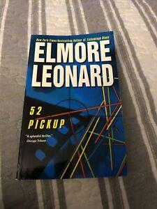 52 Pickup by Elmore Leonard Paperback