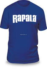 NEW Rapala Fishing Next Level T Shirt Royal Blue / White Logo M RNLT9032M