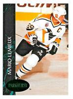 1992-93 Mario Lemieux Parkhurst Emerald Version - Pittsburgh Penguins