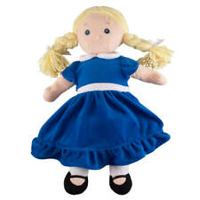 Big Sister Doll with Birthstone Color Dress, September, Blue, Small