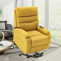 Electric Power Lift Recliner Chair Living Room Chair Motorized Single Sofa