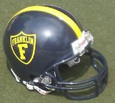 FRANKLIN UNIVERSITY GRIZZLIES FOOTBALL MINI HELMET