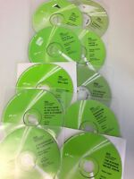 Amway CDs pack of 10 various titles and speakers