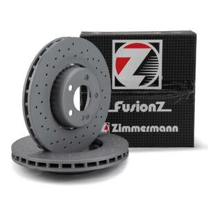 Zimmermann FORMULA S Bremsscheiben Satz für MERCEDES-BENZ W205 vorne 0004212112