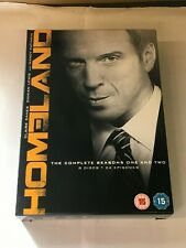 Homeland - Season Series 1-2 - Complete (DVD, 2013, 8-Disc Set, Box Set)  G  N1