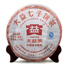 Dayi 0532 Menghai Dayi Pu-erh Tea Cake Qi Zhi Bing Cha Ripe Puer Tea 357g 2012