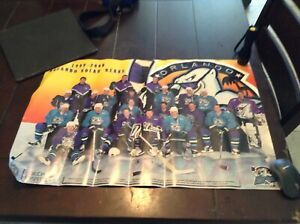 Orlando Solar Bears Poster 1999 - 2000