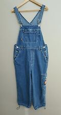 DISNEY'S MICKEY UNLIMITED Mickey Mouse Jean Bib Overall Sz M MEDIUM 100% Cotton