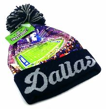 Dallas New Top Pro Stadium Beanie Toque Pom Cowboys Blue Knit Cuffed Era Hat Cap