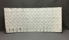 80 Sq Feet Salvaged Antique Tin Metal Ceiling Decorative Pattern Old Vtg 119-20B