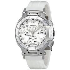 T0482171701700 Tissot T-Race Women's Chronograph White Rubber Strap Watch Ladies