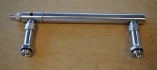 Billet Aluminum Fuel Log Line For Holley 4150 Double Pumper Clear Fits Sbc Bbc