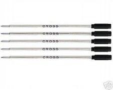 5 CROSS Ballpoint Pen Refills AUTHENTIC - BLACK BROAD - #8101