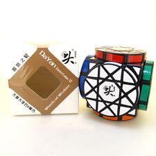 Black Wheels of Wisdom Magic Cube Twist Puzzle Dayan Gem Cube VI Brainteaser Toy
