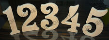 VICTORIAN NUMBERS IN MDF (180mm x 18mm thick)/WOODEN CRAFT SHAPE/DECORATION
