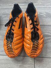 Adidas Traxion F50 F10 Adizero FG Orange Black Size 10 Football Boots Cleats