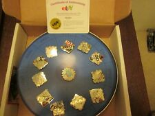 Ebay 2005 Lapel Pin Set Limited Edition New Never Displayed 156/250