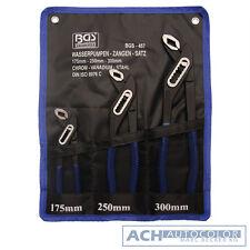 BGS 457 - Jeu de pinces pompe eau, DIN 5231, 3 pièces 175-240-300 mm neuf + Sac