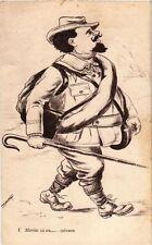 CPA  - Marius va au…. Cabanon (213907)