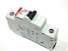 UP TO 6 ABB 16 AMP 1 POLE CIRCUIT BREAKERS DIN MT S201 B16