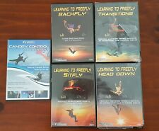 Skydive instructional DVDs (5) and Information manuals (3)