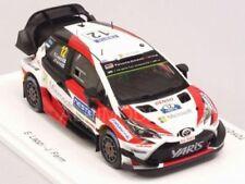 Coches de rally de automodelismo y aeromodelismo Spark, Toyota, Escala 1:43