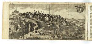 BERGAMO 1754 CEPPARULI SALMON - Rara - Fascicolo TESTO - Stampa Antica Originale