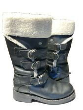 Harley davidson winter riding boots sherpa trim size 5 1/2 excellent condition