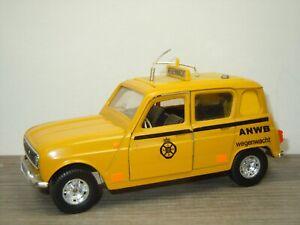 Renault 4 ANWB Wegenwacht - Bburago Italy 1:24 *52570