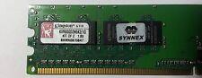 GENIUNE Kingston Memory RAM 512MB KVR800D2N5K2/1G DDR2 800 MHz PC2-6400  Desktop
