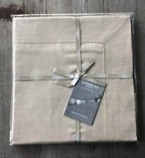 Libeco 100% Belgian Linen Victoria King Pillow Sham Taupe – New