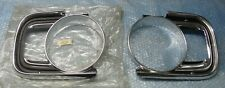 MK2 CORTINA GT 1600E LOTUS GENUINE FORD NOS PAIR OF HEADLAMP SURROUNDS