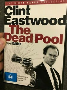 The Dead Pool region 4 DVD (1998 Clint Eastwood action thriller movie)