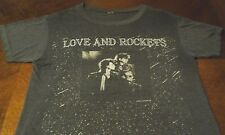 Love and Rockets Vtg 80's Distressed Concert T Shirt Large Bauhaus Tones on Tail