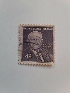 US 4 Cent Walter George Postage Stamp 1960 Scott 1170 F US118