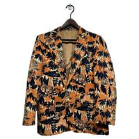Vintage Princeton University 1957 Reunion Jacket Tigers Print 25th Anniversary