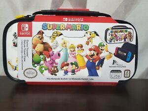Nintendo Switch Super Mario Game Traveler Deluxe Travel Case- Brand New