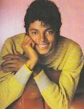 "*King of Pop-""MICHAEL JACKSON Postcard"" -Young MJ Posing w/Big Smile-- (PX9)"